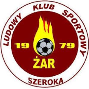 Herb klubu LKS Żar Szeroka