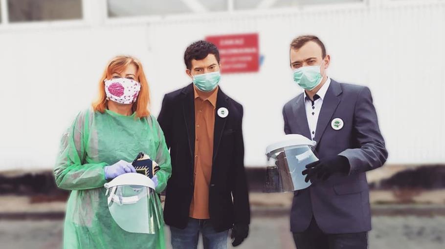 Wspieramy szpital w walce z COVID 19!