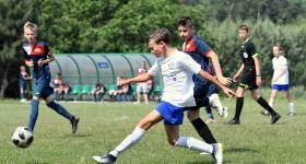 10. kolejka 3. ligi okręgowej młodzików | Wiara Lecha - Polonia II Środa Wielkopolska 0:3 obrazek 2