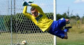 1. kolejka V ligi 2020/21 | Grom Plewiska - Wiara Lecha 1:0 obrazek 12