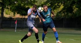 1. kolejka V ligi 2020/21 | Grom Plewiska - Wiara Lecha 1:0 obrazek 19