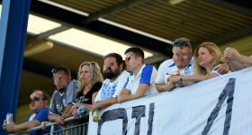 1. kolejka V ligi 2020/21 | Grom Plewiska - Wiara Lecha 1:0 obrazek 31