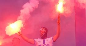 1. kolejka V ligi 2020/21 | Grom Plewiska - Wiara Lecha 1:0 obrazek 48