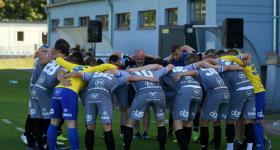 1. kolejka V ligi 2020/21 | Grom Plewiska - Wiara Lecha 1:0 obrazek 13