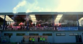 1. kolejka V ligi 2020/21 | Grom Plewiska - Wiara Lecha 1:0 obrazek 25