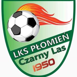 Herb klubu LKS Płomień Czarny Las