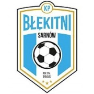 Herb klubu KP Błękitni Sarnów