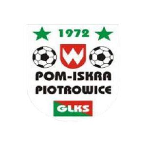 Herb klubu POM Iskra Piotrowice