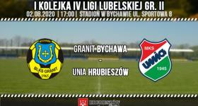 Porażka z Granitem Bychawa na inaugurację sezonu.