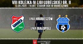 Unia Hrubieszów - Unia Białopole (zapowiedź meczu)