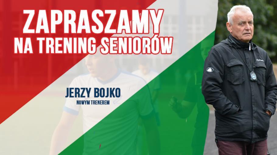 Zapraszamy na trening seniorów z nowym trenerem.