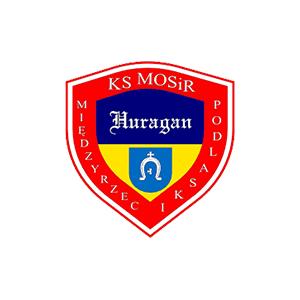 Herb klubu Huragan Międzyrzec Podlaski