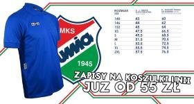 Zapisy na koszulki Unii Hrubieszów!