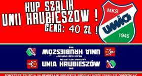 Rusza sprzedaż szalików Unii Hrubieszów!