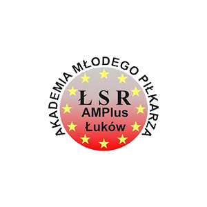 Herb klubu ŁSR AMPLUS Łuków