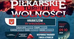 Piłkarski Turniej Wolności w Hrubieszowie!