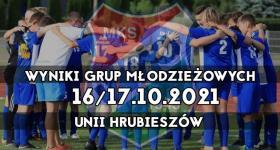 Wyniki grup młodzieżowych Unii Hrubieszów.