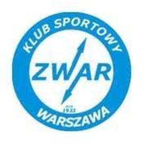 Herb klubu KS Zwar Warszawa