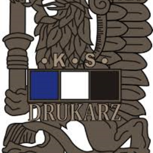 Herb klubu KS Drukarz Warszawa