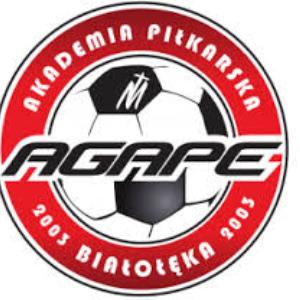 Herb klubu AP Agape Białołęka