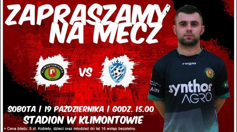 Zaproszenie: Klimontowianka - Zorza Tempo Pacanów