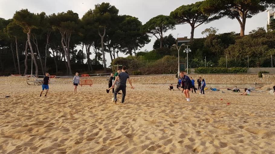 Dzień drugi w Hiszpanii na sportowo.