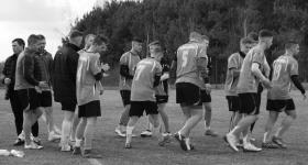 Treningi pierwszej drużyny zawieszone