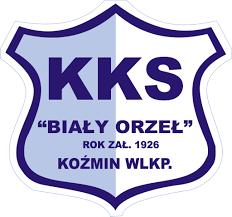 Herb klubu Biały Orzeł Koźmin Wlkp.