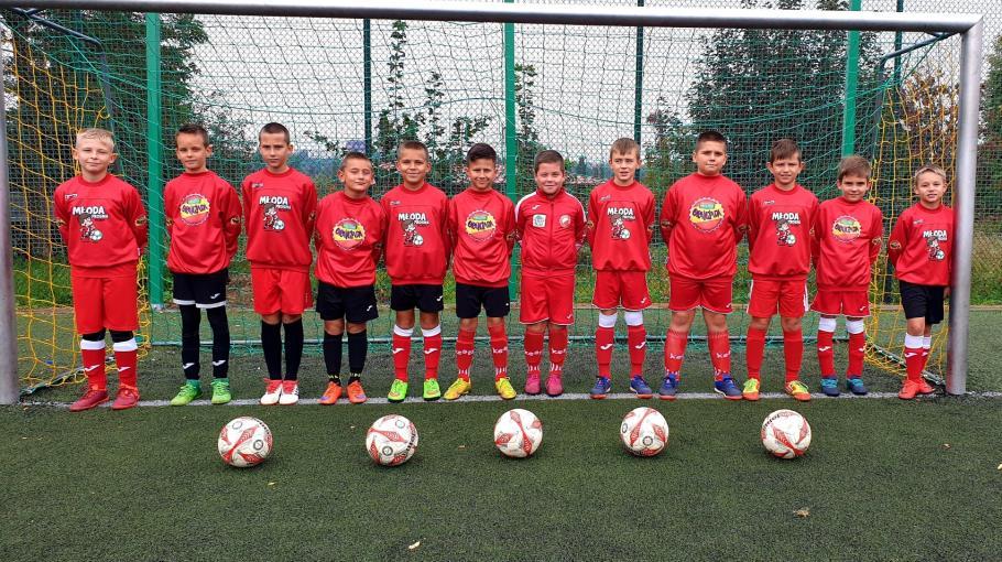 Zdjęcie grupowe drużyny ORLIK