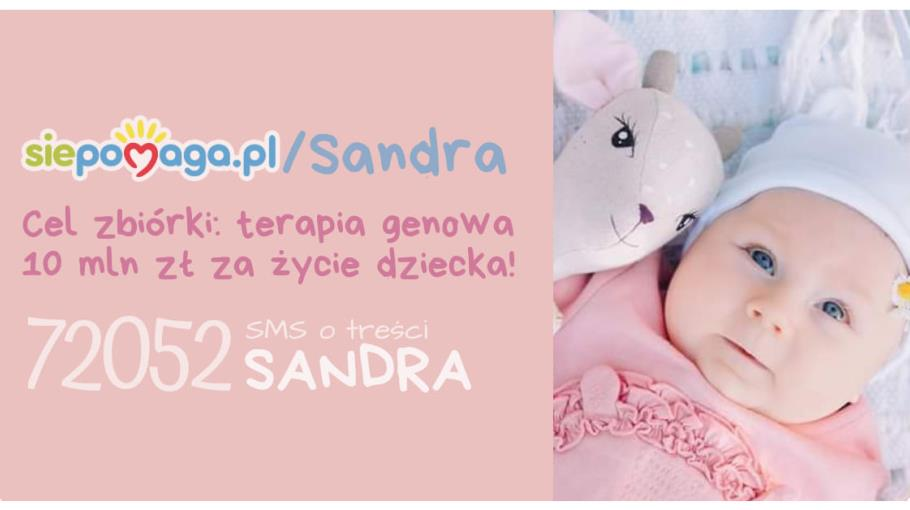 Licytacja dla Sandry