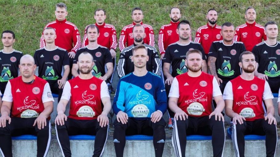 Zdjęcie grupowe drużyny KADRA SENIORÓW