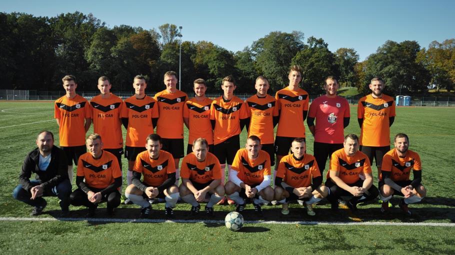 Zdjęcie grupowe drużyny PPB