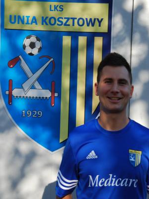 Zdjęcie członka Krzysztof Maciaszek w klubie Unia Kosztowy