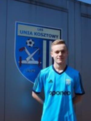 Zdjęcie członka Dawid Żyła w klubie Unia Kosztowy
