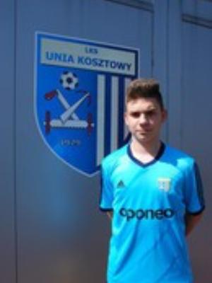 Zdjęcie członka Paweł Kasperczyk w klubie Unia Kosztowy