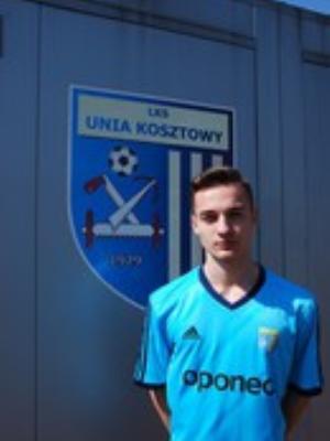 Zdjęcie członka Patryk Golak w klubie Unia Kosztowy