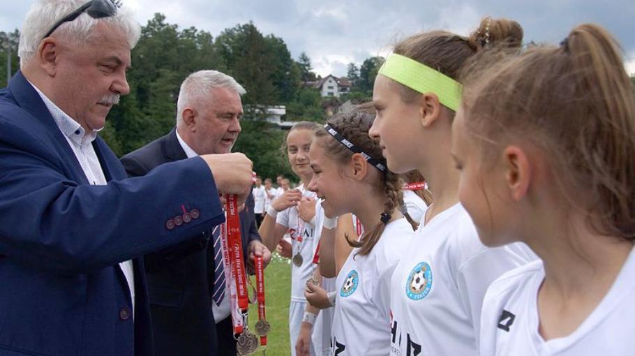 Zosia ze złotym medalem mistrzostw Polski!