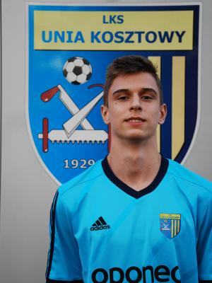 Zdjęcie członka Jakub Gorączko w klubie Unia Kosztowy