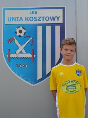 Zdjęcie członka Maksymilian  Procharski w klubie Unia Kosztowy