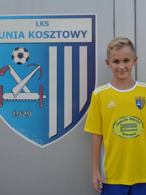 Zdjęcie członka Adam Błotko w klubie Unia Kosztowy