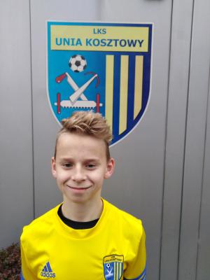 Zdjęcie członka Szymon Bożek w klubie Unia Kosztowy