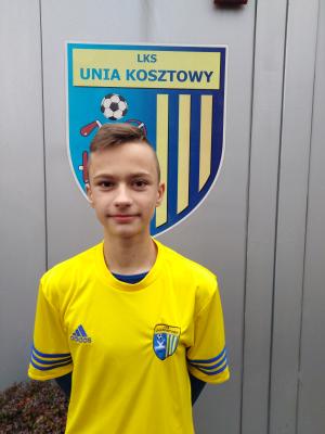 Zdjęcie członka Kamil Kępa w klubie Unia Kosztowy