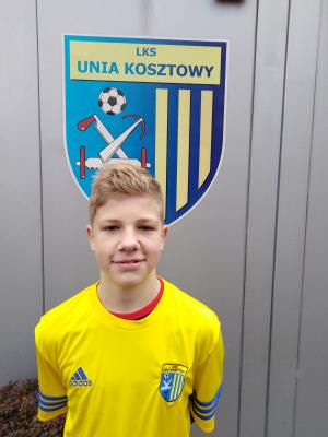 Zdjęcie członka Bartosz Skrzeczyna w klubie Unia Kosztowy