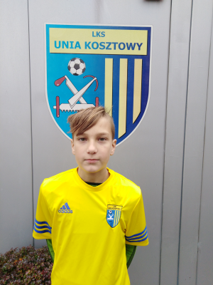 Zdjęcie członka Kacper Długosz w klubie Unia Kosztowy
