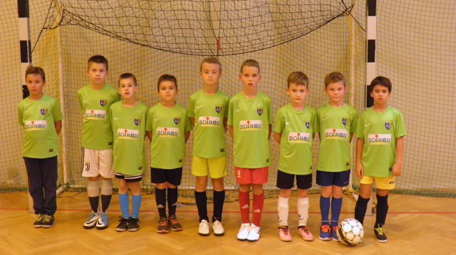 Zdjęcie grupowe drużyny 2009 zielona