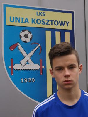Zdjęcie członka Mateusz Mysiorski w klubie Unia Kosztowy