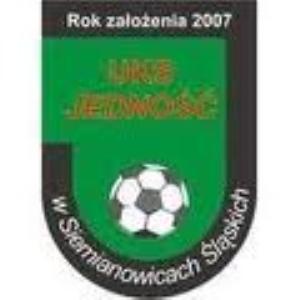 Herb klubu UKS Jedność Siemianowice Śl.