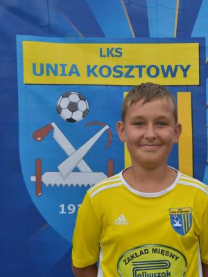 Zdjęcie członka Tomasz Szafarczyk w klubie Unia Kosztowy