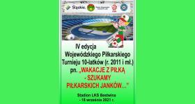IV Turniej Piłki Nożnej Zrzeszenia LZS dla kat.E1