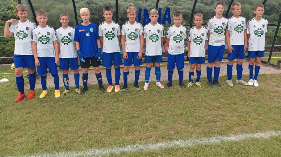 Zdjęcie grupowe drużyny 2009 Żółta